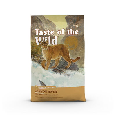 Taste Of The Wild Canyon River Feline Formula With Trout  Smoked Salmon