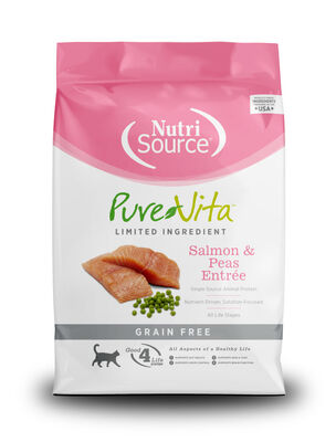 Pure Vita Salmon  Peas Entree