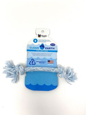 Spunky Pup Clean Earth Recycled Rope, Small