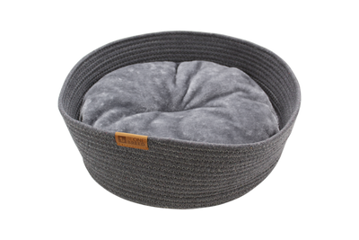 BeOneBreed Pet Cuddler Cat Bed, Gray