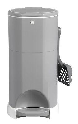 Litter Champ Premium Odor-Free Cat Litter Waste Disposal System, Grey