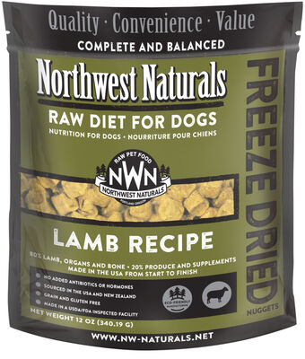 Northwest Naturals Freeze Dried Lamb