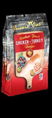 Fussie Cat Market Fresh Chicken  Turkey