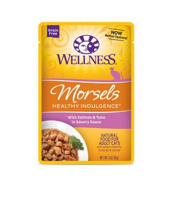 Wellness Healthy Indulgence Morsels Salmon  Tuna
