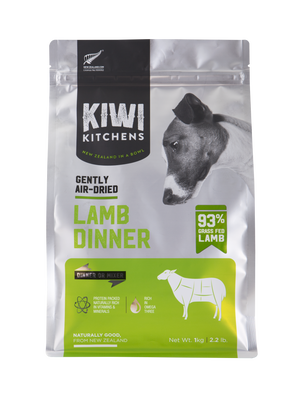 Kiwi Kitchens Gently Air-Dried Lamb Dinner