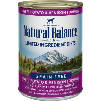 Natural Balance Limited Ingredient Diet Venison  Sweet Potato