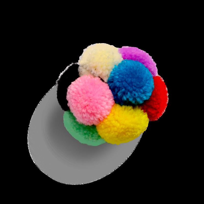 Goli Design Catomic Catnip Infused Pom Pom Ball Cat Toy