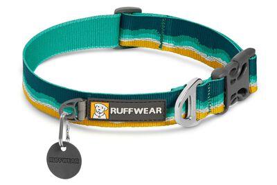 Ruffwear Crag Reflective Dog Collar, Seafoam, 14-20 inch
