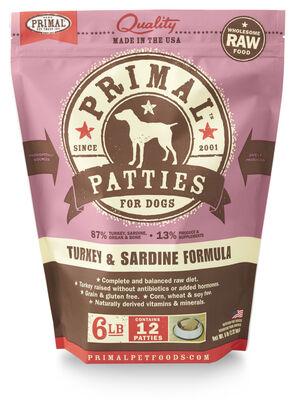 Primal Canine Turkey  Sardine
