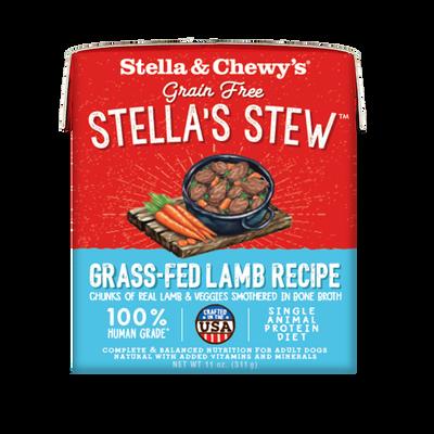 Stella  Chewy's Stella's Stew Grass-Fed Lamb Wet Dog Food, 11-oz