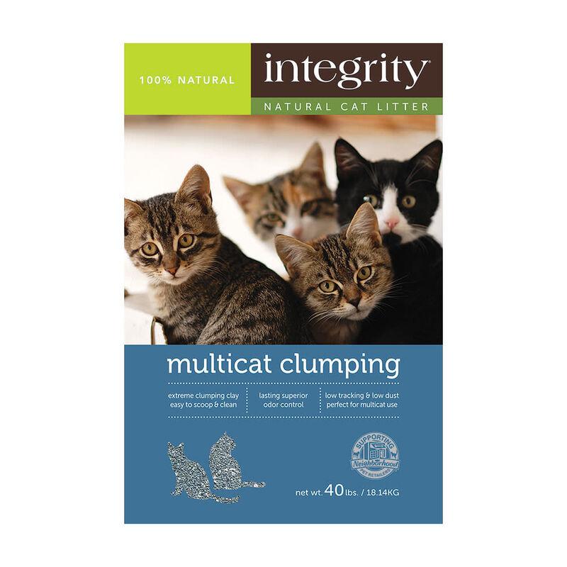 Integrity Multi-Cat Clumping Cat Litter, 40-lb