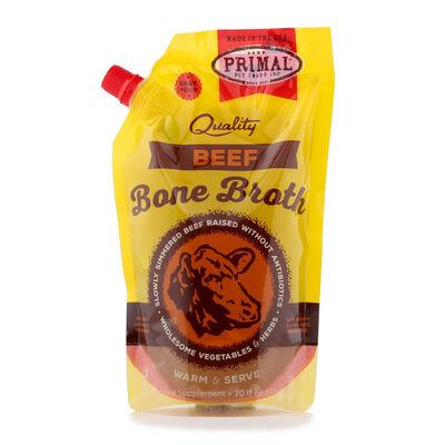 Primal Beef Frozen Bone Broth, 20-oz