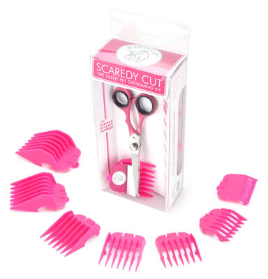 Scaredy Cut Silent Pet Grooming Kit, Pink