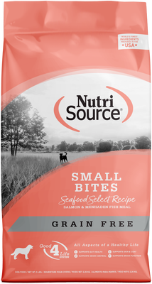 NutriSource Grain Free Small Breed Seafood Select