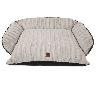 SnooZZy Rustic Luxury Comfy Couch Pet Bed, Large, 40-in x 30-in