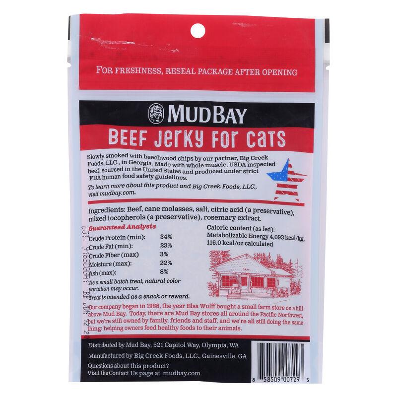 Mud Bay Beef Jerky Cat Treat, 3-oz