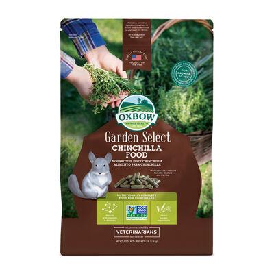 Oxbow Garden Select Chinchilla Food, 3-lb