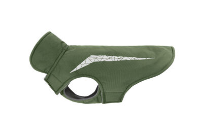 RC Pet Products Cascade Dog Coat, Olive Green, 14-in