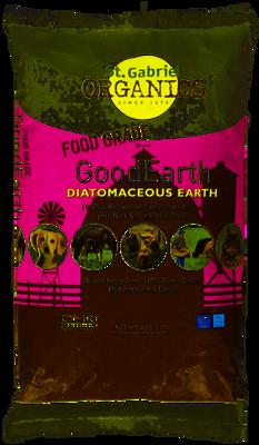 St. Gabriel Organics Food Grade GoodEarth Diatomaceous Earth for Pets, 2-lb