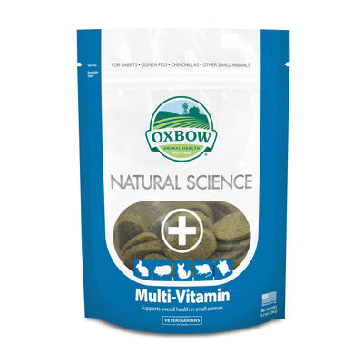 Oxbow Natural Science Multi-Vitamin Small Animal Supplement, 4.2-oz
