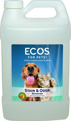 ECOS for Pets! Stain  Odor Remover, 1-gal bottle