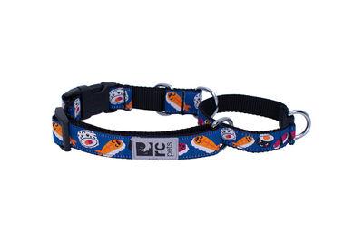 RC Pet Products Easy Clip Web Training Dog Collar, Sushi, Medium