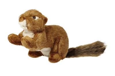 Fluff  Tuff Red Squirrel Dog Toy, Large