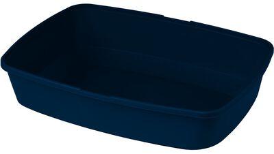Moderna Maryloo Cat Litter Pan, Blue, Jumbo