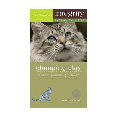 Integrity Clumping Clay Cat Litter, 25-lb
