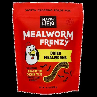 Happy Hen Mealworm Frenzy Chicken Treats, 3.5-oz