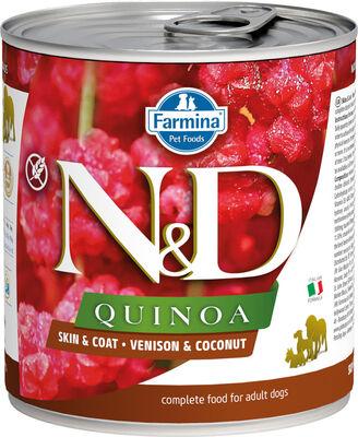 Farmina ND Quinoa Skin  Coat Venison  Coconut