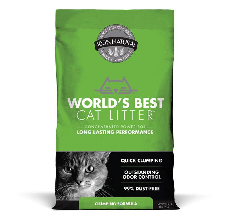World's Best Original Unscented Clumping Cat Litter, 14-lb
