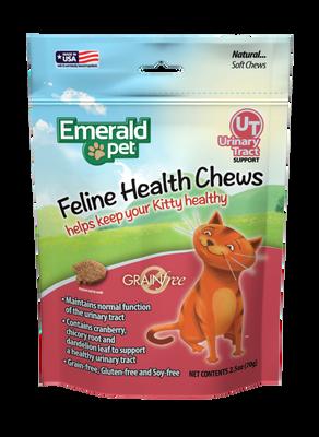 Emerald Pet Chicken Flavored Urinary Tract Formula Grain-Free Cat Treats, 2.5-oz bag