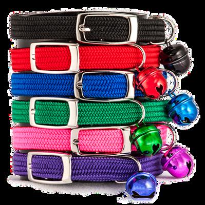 Buddy Cat Full Stretch Cat Collar, Purple