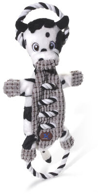 Charming Pet Ropes-A-Go-Go Dog Toy, Cow