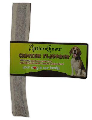 Antler Chewz Chicken Flavored Split Antler Dog Treats, Large
