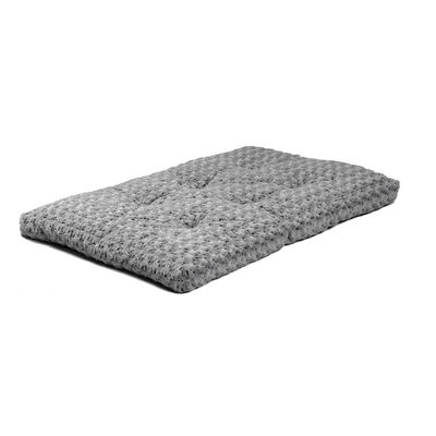 MidWest Quiet Time Ombre Swirl Dog  Cat Bed, Grey, 36-in