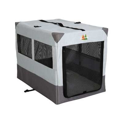 MidWest Canine Camper Sportable Tent Dog Crate, 36-in