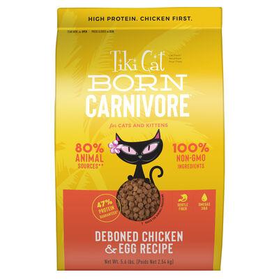 Tiki Cat Born Carnivore Deboned Chicken  Egg