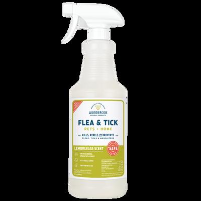 Wondercide 'FLEA amp;amp; TICK' Natural Flea, Tick amp;amp; Mosquito Control for Dogs, Cats amp;amp; Home - Lemongrass Scent, 32-oz