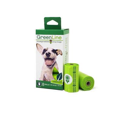 GreenLine Pet Supply Poop Bag Rolls, 8-pk