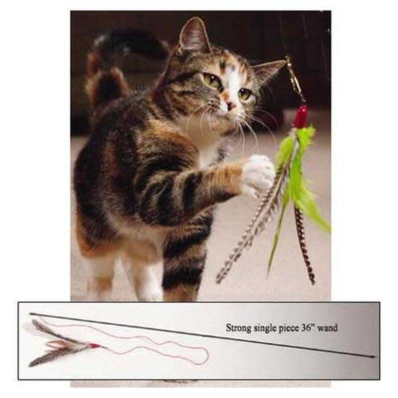 Go Cat Da Bird Cat Toy with Rod