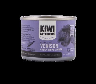 Kiwi Kitchens Grass Fed Venison Green Tripe Dinner