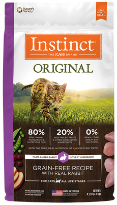 Nature's Variety Instinct Original Grain-Free Recipe With Real Rabbit