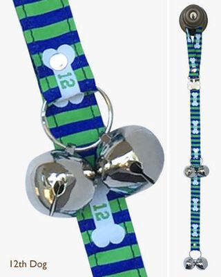 Poochie Bells Potty Doorbell for Dogs, 12th Dog, Seattle Seahawks