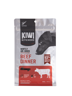 Kiwi Kitchens Gently Air-Dried Beef Dinner