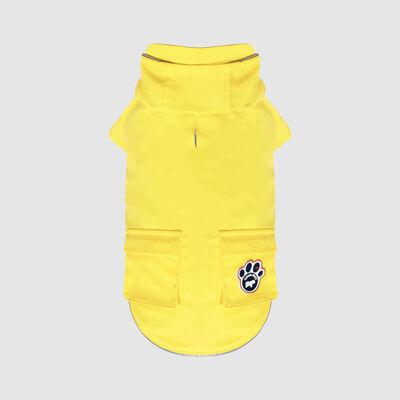 Canada Pooch Yellow Torrential Tracker Dog Raincoat, 26