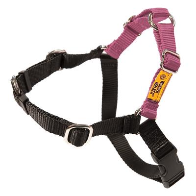 Dolan's Dog Doodads Wonder Walker Body Halter Dog Harness, Rose, X-Large, 1-in