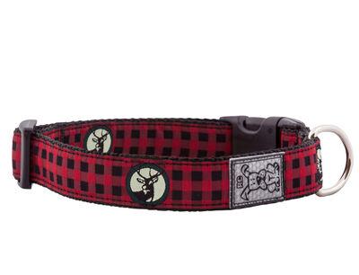 RC Pet Products Clip Dog Collar, Urban Woodsman, X-Small