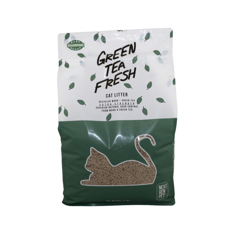 Next Gen Pet Green Tea Fresh Cat Litter, 5-lb